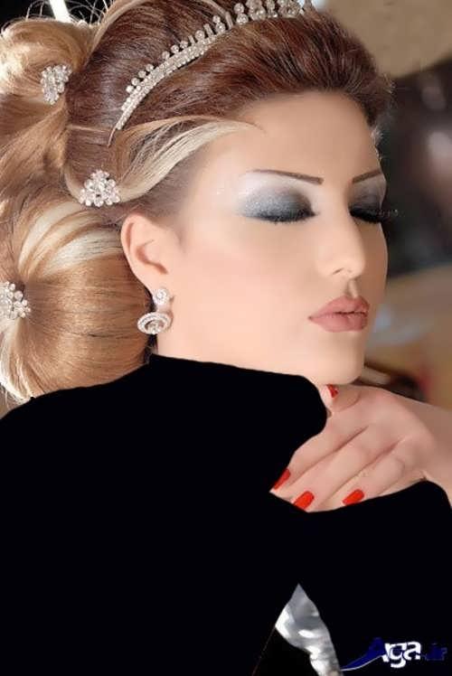 آرایش عروس خلیجی زیبا و متنوع