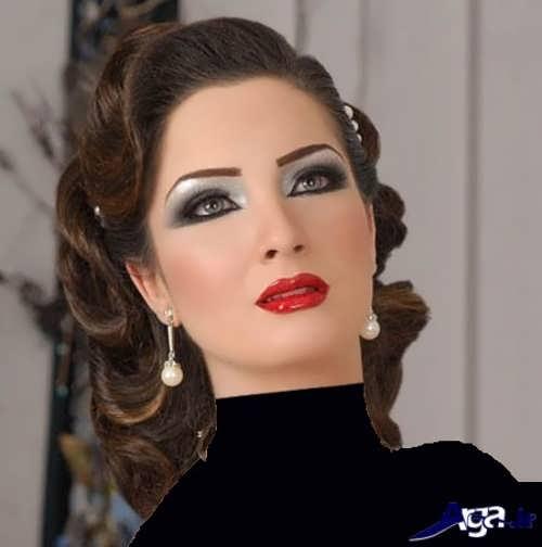 آرایش عروس به سبک زیبای خلیجی