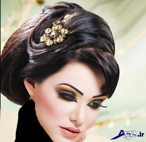 انواع مدل های زیبا و متنوع آرایش عروس