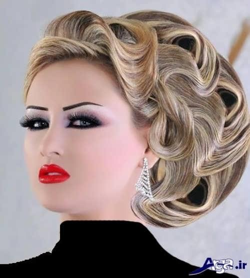 آرایش های زیبا خلیجی برای عروس