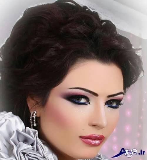 مدل آرایش عروس خلیجی زیبا و متفاوت