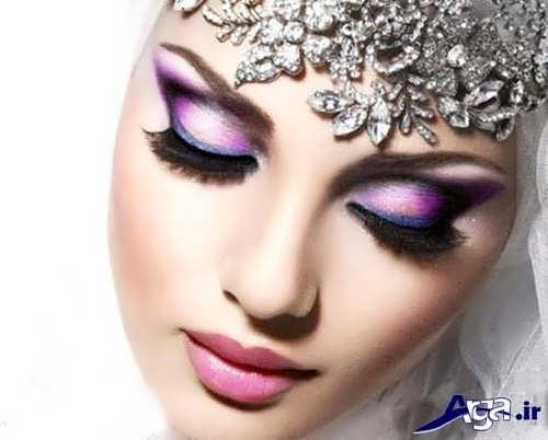 مدل میکاپ عروس خلیجی