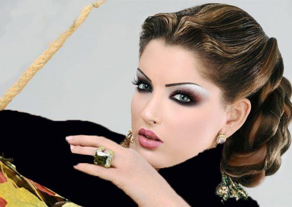 عکس های آرایش عروس خلیجی
