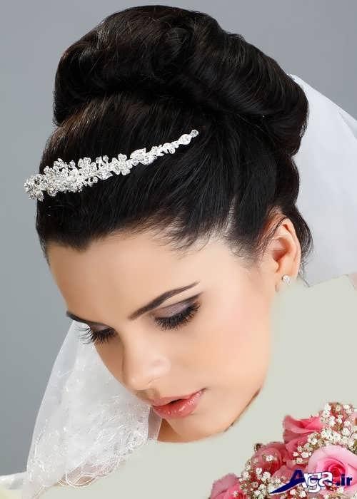 مدل موی زیبا و جدید عروس