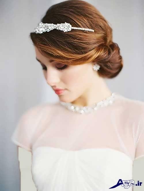 مدل موی عروس زیبا و شیک