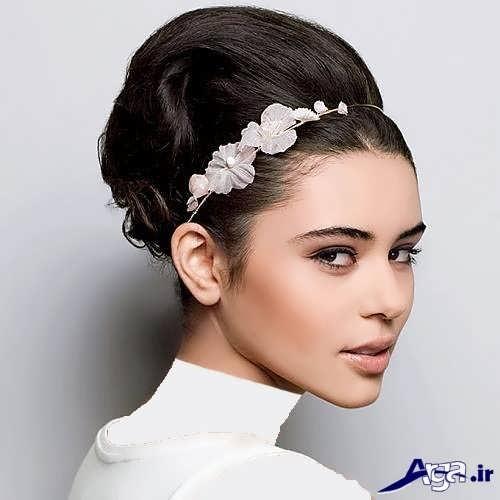 مدل موی زیبا و بسته عروس
