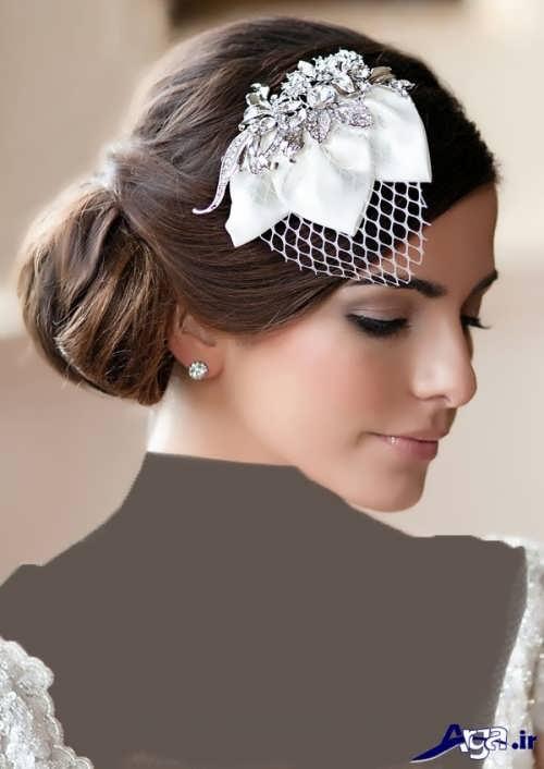 مدل شینیون عروس زیبا