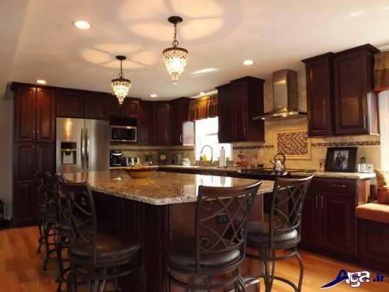 مدل لوستر ساده برای آشپزخانه