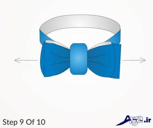 روش بستن پاپیون در 10 مرحله