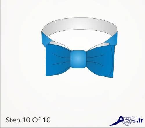 10 مرحله برای بستن پاپیون