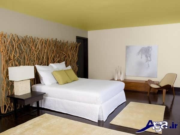 تزیین ساده اتاق خواب دو نفره