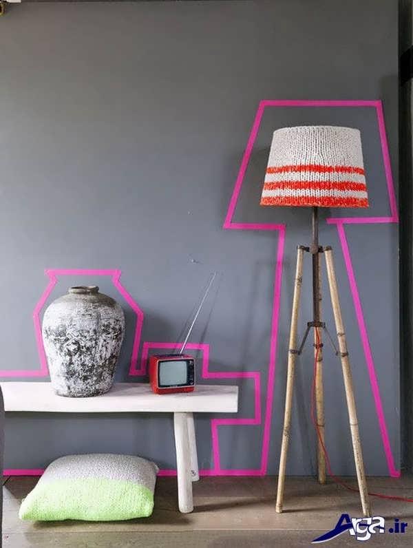ساخت وسایل تزیینی برای اتاق خواب با کمک وسایل دور ریختنی