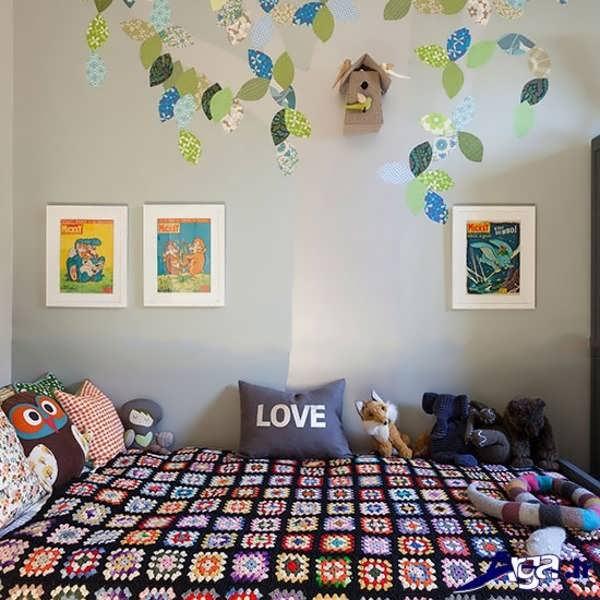 تزیین اتاق خواب کودک با روش های ساده