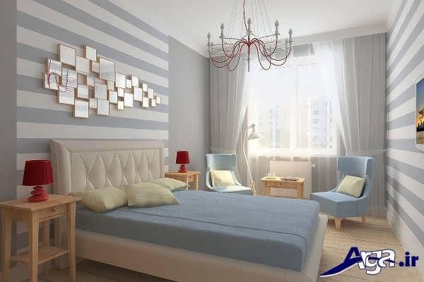 تزیین ساده اتاق خواب
