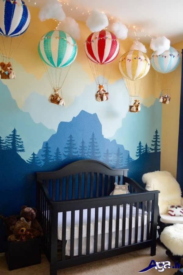تزیین زیبا اتاق کودک