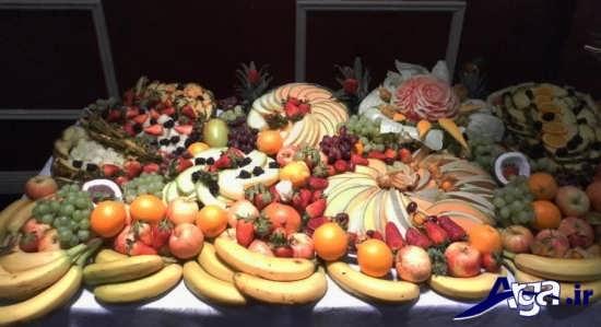 انواع تزیینات برای میوه های روی میز
