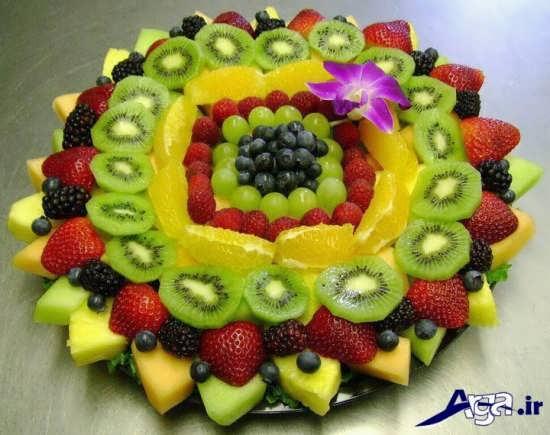 تزیین میوه های مختلف