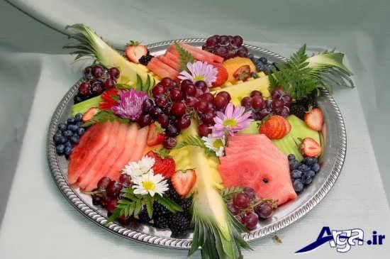 تزیین میوه برای روی میز