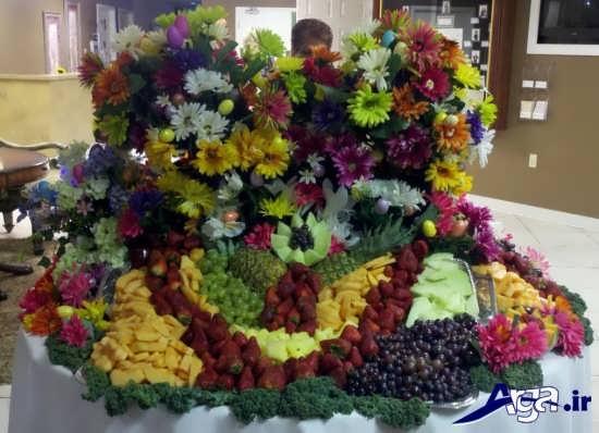 تزیین زیبا میوه