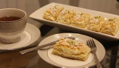 طرز تهیه شیرینی ناپلئونی با روش اصلی