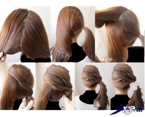 آموزش بستن مو در خانه با روش های ساده