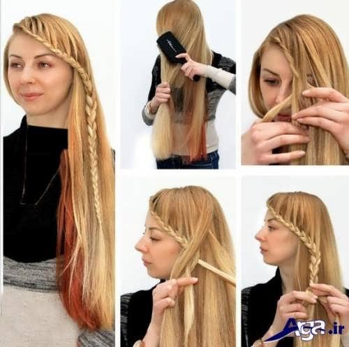 آموزش بستن موها در خانه