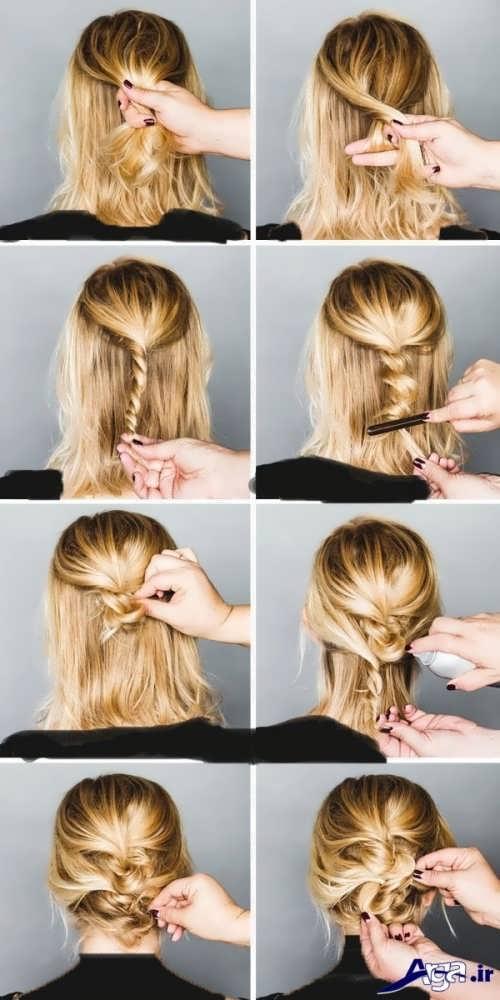 روش های ساده برای بستن مو ها در خانه
