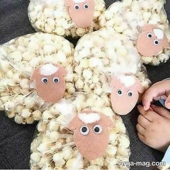 ساخت کاردستی گوسفند