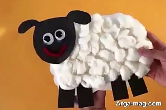 ساختن گوسفند با وسایل ساده