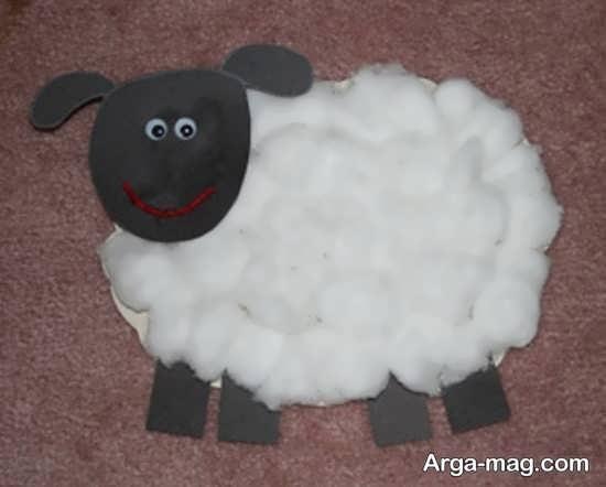 کاردستی گوسفند برای عید