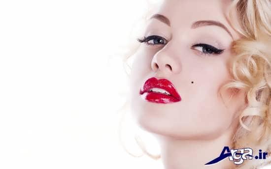 مدل آرایش ملایم زنانه