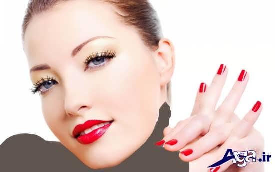 انواع مدل های آرایش زنانه