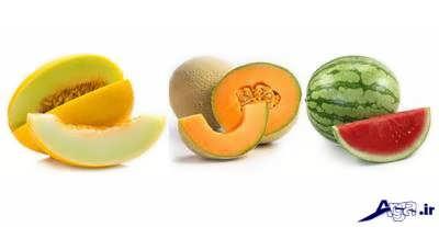 میوه های آبدار برای لاغری