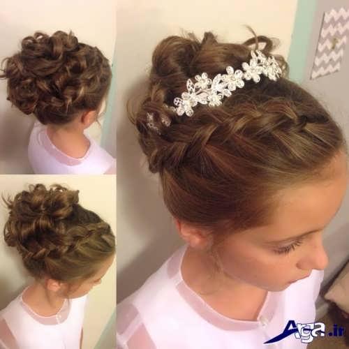 مدل موی دخترانه برای عروسی با شینیون های زیبا و متفاوت