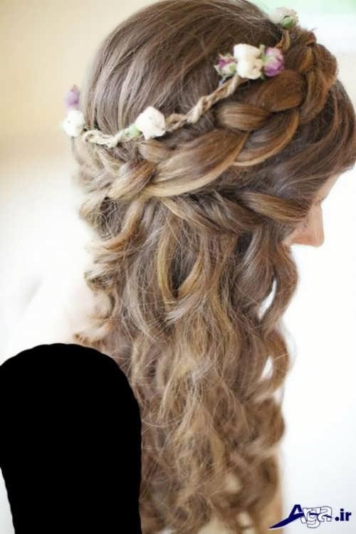 مدل مو زیبای دخترانه برای عروسی