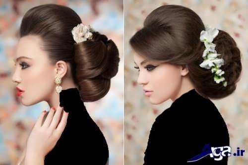 مدل موی بسته مجلسی دخترانه