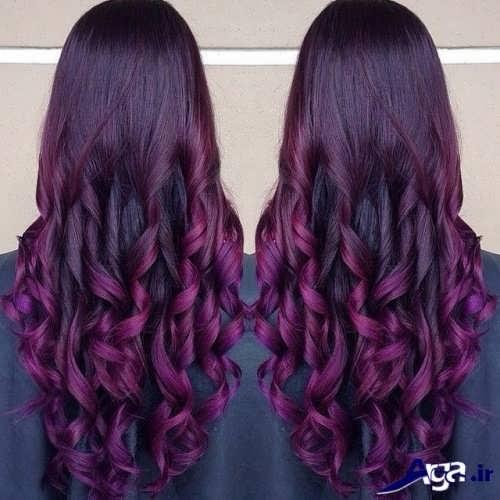 جدیدترین نمونه های رنگ مو