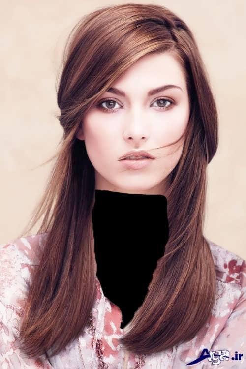 رنگ موهای تیره و روشن دخترانه
