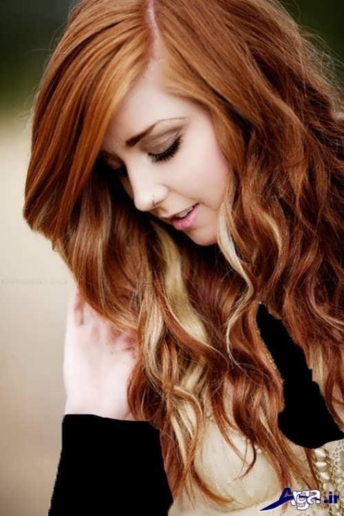رنگ موهای جذاب و متفاوت دخترانه
