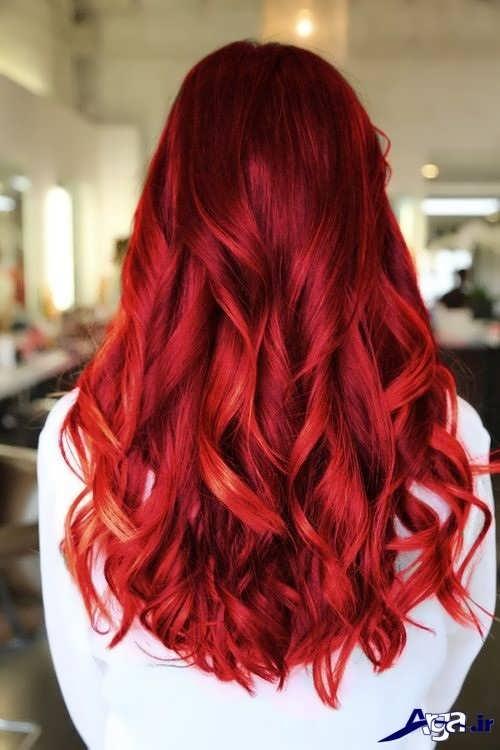 رنگ مو برای دختران جوان