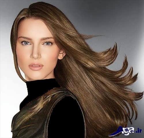 رنگ موی زیبا و جدید دخترانه