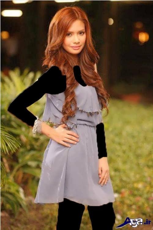رنگ موی زیبا دخترانه