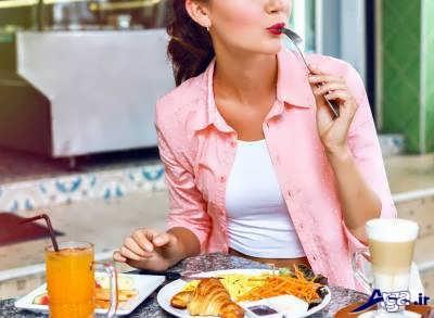 خوردن غذا قبل از خواب برای چاقی