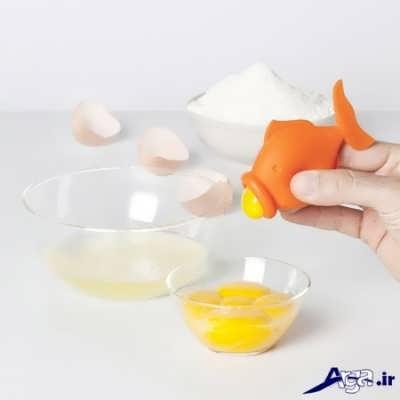 روش جدا کردن زرده تخم مرغ از سفیده