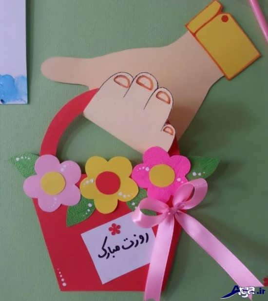 کاردستی روز کودک زیبا و جالب با کاغذ