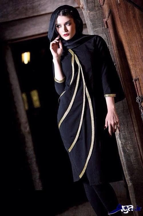 مدل مانتو ایرانی مجلسی