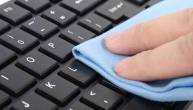روش تمیز کردن صفحه کلید