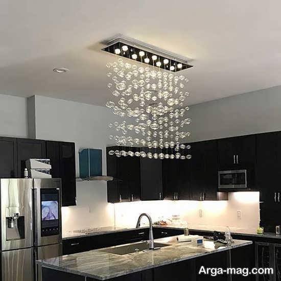 جدیدترین مدل لوستر آشپزخانه