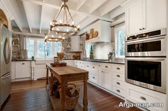 لوسترهای متفاوت آشپزخانه