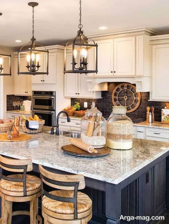 لوسترهای شیک آشپزخانه